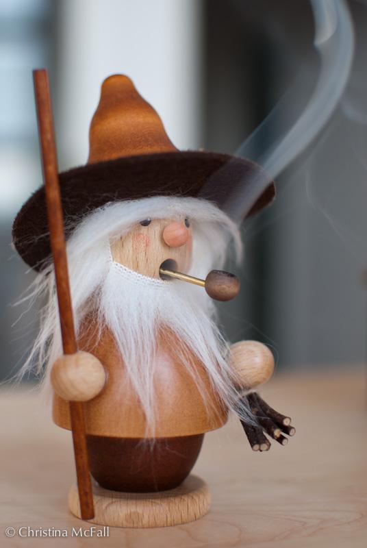 Räuchermann or Räuchermännchen, german incense burner
