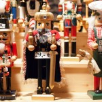 nutcrackers at german christmas market weihnachtsmarkt
