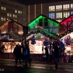 christmas market (weihnachtsmarkt) at Alexanderplatz