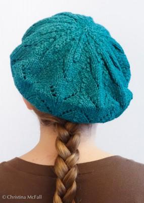 finished Meret beret hat